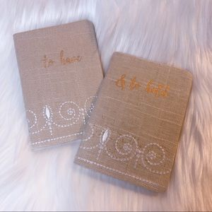 To Have & To Hold Couple Set Mini Notebooks